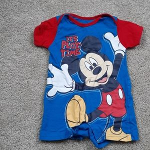 Disney Baby Boys Mickey Romper